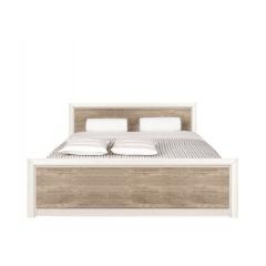 Кровать Коен LOZ160х200 с подъемным механизмом (ясень снежный/сосна натуральная)