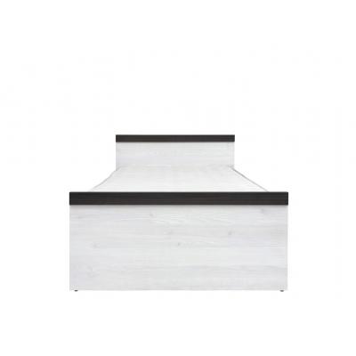 Кровать с металлическим основанием Порто 90х200