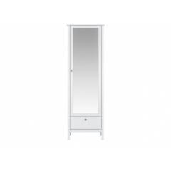 Шкаф с зеркалом SZF1W1S/60 (Хельга - Helga (белый))