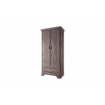 Шкаф 2DG2S (Тиффани ANREX орех элия темный)