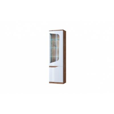 Шкаф с витриной 1V1D P (Эвора - Evora)