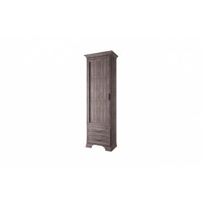 Шкаф 1D2S (Тиффани ANREX орех элия темный)