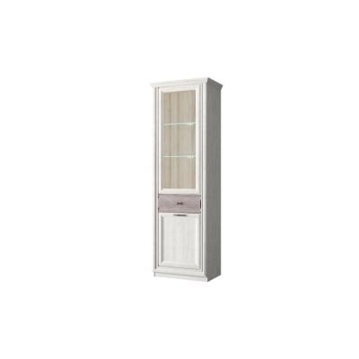 Шкаф с витриной 1V1D1S (Бордо - BORDO)