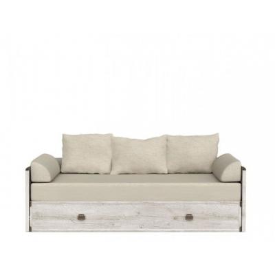 Диван-кровать раздвижная JLOZ80/160 с матрацем и подушками (Индиана каньйон)