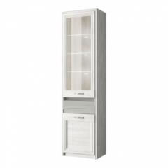 Шкаф с витриной 1V1D1S (Модена - MODENA)