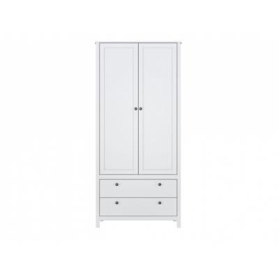 Шкаф SZF2D2S/90 (Хельга - Helga (белый))